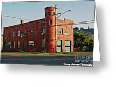 Superior Fire House Greeting Card