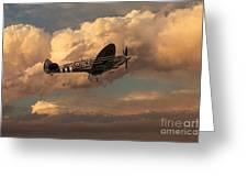 Supermarine Spitfire Mk Lfix  Greeting Card