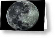 Supermoon In July Greeting Card
