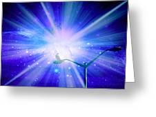 Supernova Viii Greeting Card