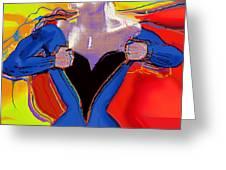 Superwoman Greeting Card