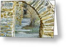 Supporting The Walls Greeting Card