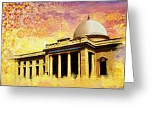 Supreme Court Karachi Greeting Card by Catf