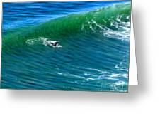 Surf 1 Take Off Greeting Card
