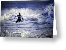 Surf At Summer Greeting Card