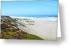 Surf Beach Lompoc California 2 Greeting Card