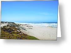 Surf Beach Lompoc California Greeting Card