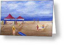 Surf Camp Greeting Card