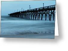 Surf City Pier Soft 2 Greeting Card
