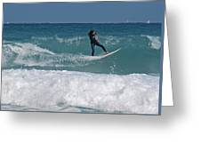 Surf Lx Greeting Card