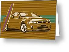 Surf Ute Greeting Card