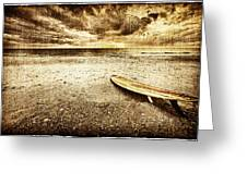 Surfboard On The Beach 2 Greeting Card