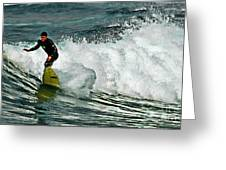 Surfer 4 Greeting Card