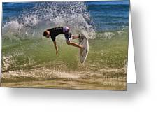 Surfer 9222013 Greeting Card
