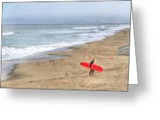 Surfer Boy Greeting Card