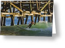 Surfer Dude 4 Greeting Card