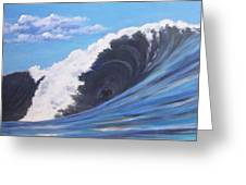 Surfer's Dream Greeting Card