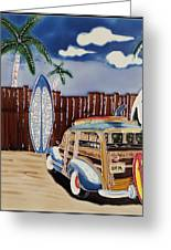 Surfers Dream Greeting Card by Kip Krause