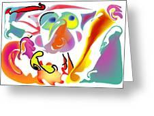 Surfin Safari Greeting Card