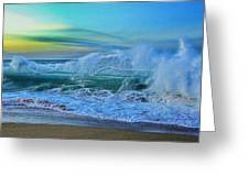 Surf's On Greeting Card