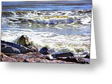 Surfside Jetty Greeting Card