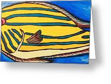 Surgeonfish Greeting Card