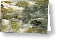 Surging Water Greeting Card