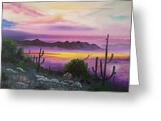 Surreal Desert II Greeting Card