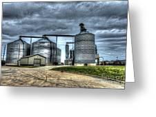 Surreal Grain Greeting Card