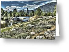 surreal Hope Valley Greeting Card