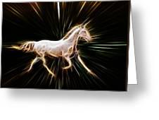 Surreal Horse Greeting Card