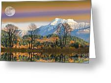 Surreal Landscape-hdr Greeting Card