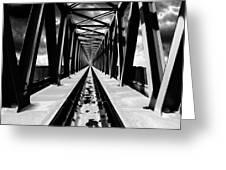 Surrealistic Symmetry Greeting Card