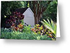 Surrounded By Beauty Greeting Card