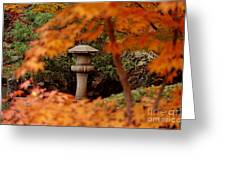 Surrounded By Fall Greeting Card