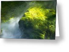 Surrounded By Mist Greeting Card