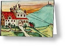 Surveying Methods, 16th Century Greeting Card
