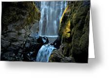 Susan Creek Falls Series 12 Greeting Card