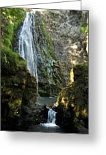 Susan Creek Falls Series 3 Greeting Card