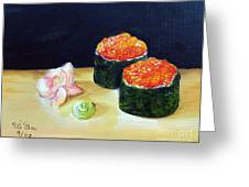 Sushi 6 Greeting Card