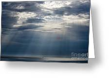 Suspended Between Heaven And Earth Greeting Card