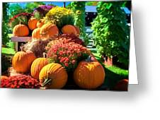 Sussex County Farm Stand Greeting Card
