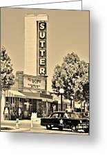 Sutter Theater Greeting Card