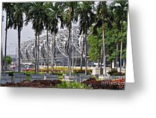 Suvarnabhumi International Airport In Bangkok Greeting Card