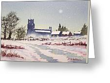 Suzan's Church Painting  Greeting Card