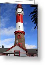 Swakopmund Lighthouse Greeting Card