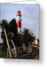 Swakopmund Lighthouse - Namibia Greeting Card
