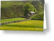 Swaledale Landscape Greeting Card