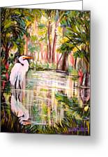 Swamp Angel Greeting Card