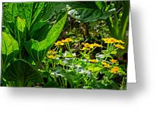 Swamp Bouquet Greeting Card